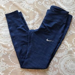 Nike Dri-fit running mesh leggings size S